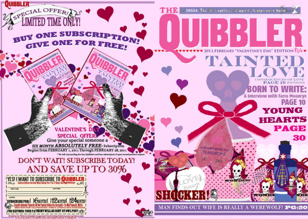 • Quibbler february [pictures 1]