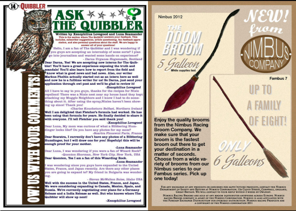• Quibbler february [pictures 2]