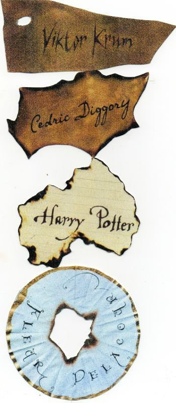 • Scans Harry Potter et la coupe de feu