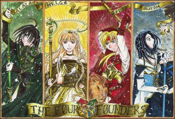 Les quatre fondateurs