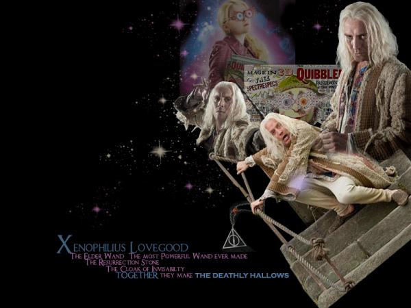 • Xenophilius Lovegood [Rédacteur en chef du Chicaneur]
