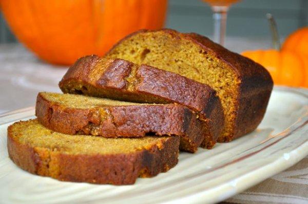 Pumpkin Bread / Pain à la citrouille