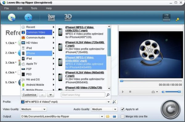 How you can Rip Blu-ray Films for Playing on iPhone5?