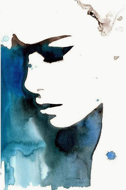 Watercolor by Jessica Durrant
