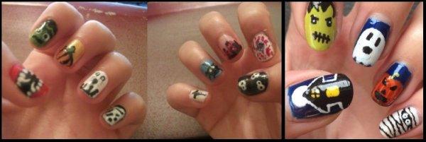 Les votes pour le concours nail art son ouverts!