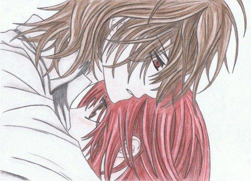 Mes dessins Vampire Knight ^^