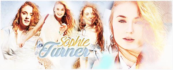 .  ● ● Bienvenue sur SophiesTurner, ta nouvelle source d'actualité sur la belle actrice Sophie. A travers candids - shoots - apparitions - others - découvrez et/ou suivez toute l'actualité de notre ravissante  Sophie Turner. .