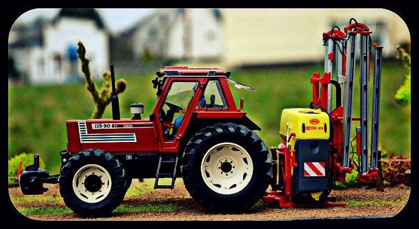 Pulvérisation des pâtures pour semi de mais 2015