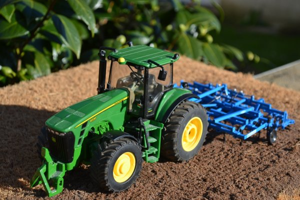 modification John deere 8330
