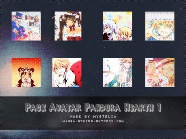 Pack d'Avatars Pandora Heart 1