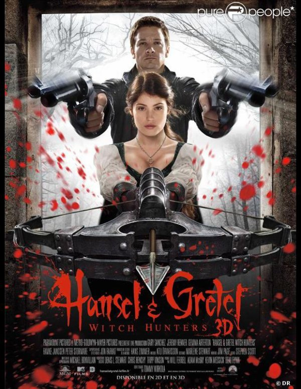 Hansel et Gretel, witch hunters