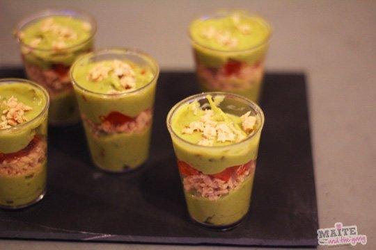 Verrines ap ritives pour no l justine cuisine - Verrine pour noel ...