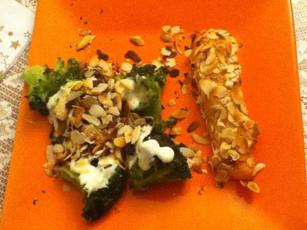 Brocoli aux amandes grillées