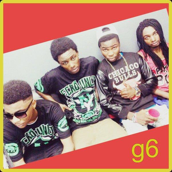 Les G6 Djoe cash, MDA, Lil jay