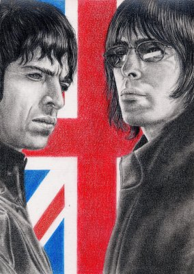 Noel & Liam Gallagher 29/10/08