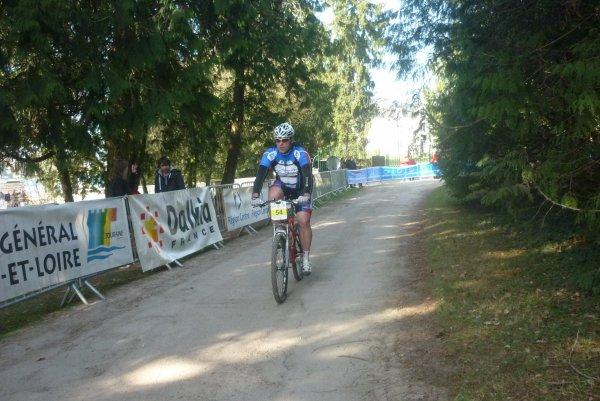 Compétition VTT a Joué les Tours le 06 mars 2011