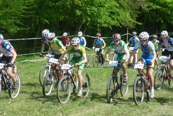 Championnat Régional VTT UFOLEP a Chailles le 17 avril 2011
