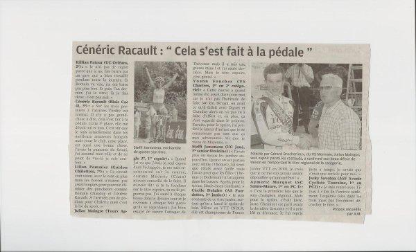 Article Nouvelle République