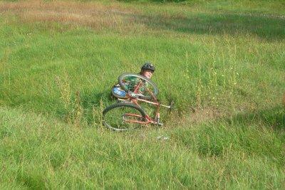 Entrainement école de vélo
