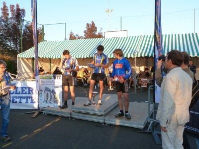 Compétition VTT à Fondettes le 15 octobre 2011