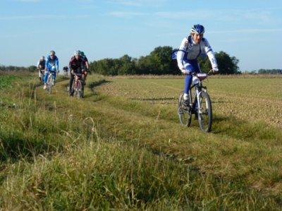 Randonnée du Moineau et du Pivert à Vouvray le 22 octobre 2011