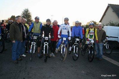 Randonnée la King-Cross à St Laurent en Gatines le13 novembre 2011