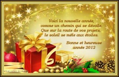 Bonne Fin d' Année 2011