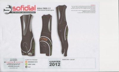 Nouvelle Equipement pour la Saison 2012