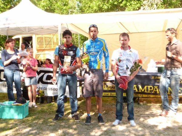 Compétition VTT UFOLEP 18 à Sancerre le 17 juin 2012