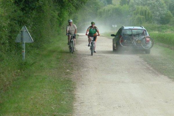 Randonnée de la St Jean à Civray de Touraine le 01 juillet 2012