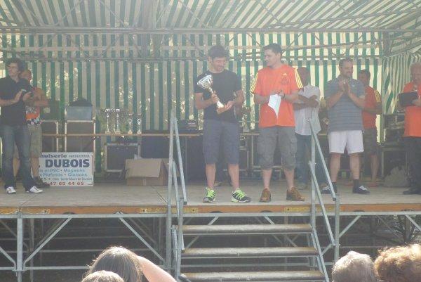 Compétition VTT UFOLEP 4 H de Mettray le 08 juillet 2012