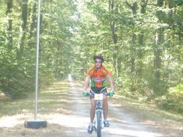 Compétition VTT 3 H de Loches le 16 septembre 2012