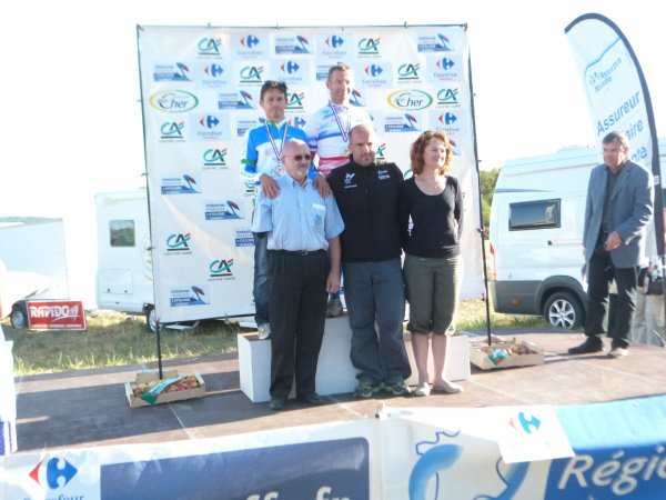 Championnat de France VTT Masters à St Martin d' Auxigny le 30 septembre 2012