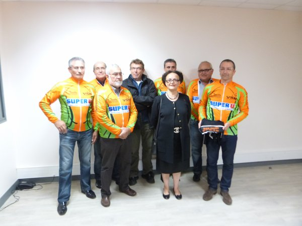 Remise Officielle des Maillots du VS-Nouzilly le 12 octobre 2012