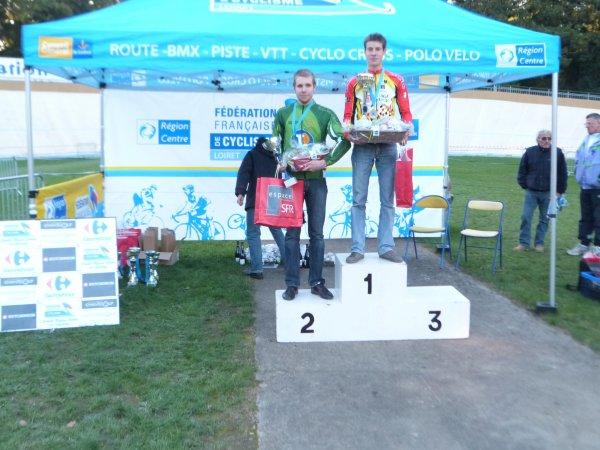 Compétition VTT FFC 45 à Montargis le 28 octobre 2012