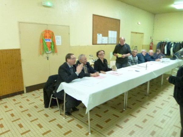 Assemblée Générale du Club le 17 novembre 2012