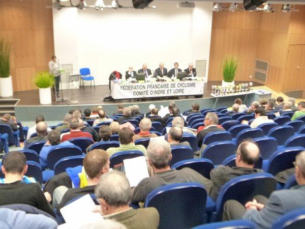 Assemblée Générale du Comité d'Indre et Loire le 14 décembre 2012