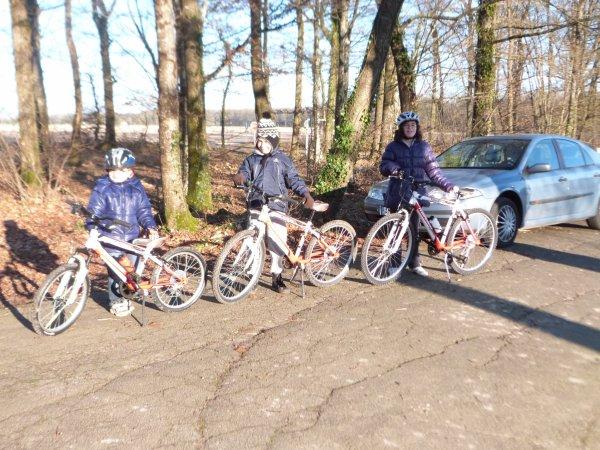 Entrainement école de vélo du 16 janvier 2013