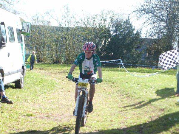 Championnat Départemental VTT à Truyes le 14 avril 2013