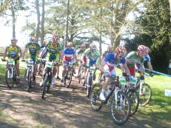 Championnat Départemental VTT FFC à Truyes le 14 avril 2013