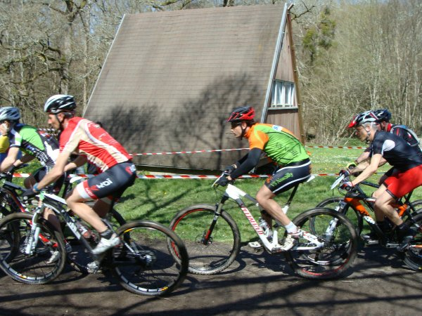 Coupe Interrégion VTT à Brigueil le Chantre FFC le 14 avril 2013
