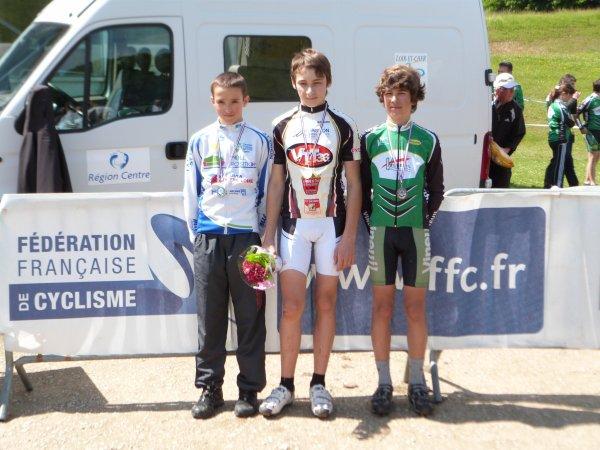 Championnat Régional VTT FFC à Onzain le 26 mai 2013