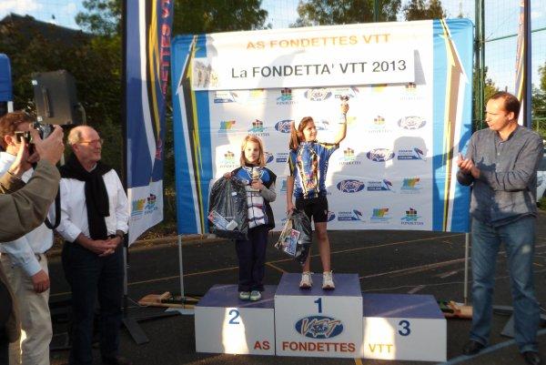 Compétition VTT FFC La Fondetta le 05 octobre 2013