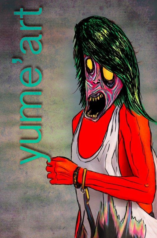 Zombie en poudre ; Zombie a coudre