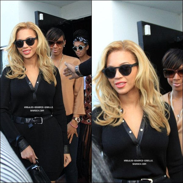 - 14/02/2011 : Beyonce, Michelle et Kelly des Destiny's Child et sa soeur Solange ont été aperçues en train de faire du shopping à L.A, Hollywood  -