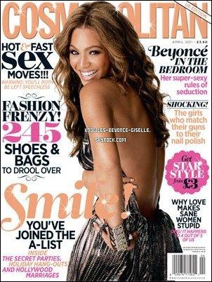 - Beyonce fait la cover du Cosmopolitan anglais d'avril  -