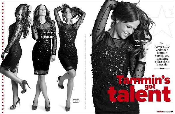 Découvrez les scans du magazine Cosmopolitan (Austalie) du mois de Mars 2012.