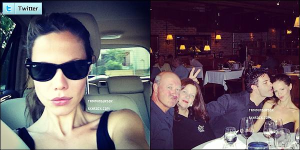 Tammin a publié des photos personnelles sur twitter :