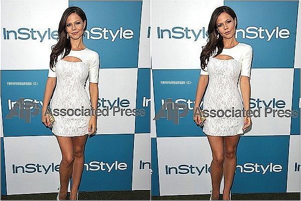 Le 08/08/12: Tammin était présente à lafête d'été InStyleà l'Hôtel de Londres, à Los Angeles.