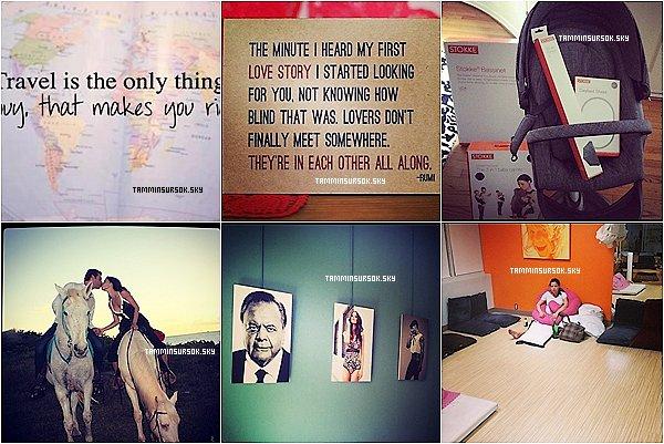 Voici de nouvelles photos de Tammin posté sur Twitter et aussi Instagram . Tammin a commencé a acheter quelque truc de bébé ses cool sa :)